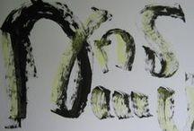 Calligraphy of Thomas Harutunyan