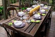 Let's eat outside / Using your outdoor space to enjoy meals