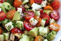 Salads / Fruit and vegetable salads