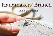 Handmakers' Brunch - Il tavolo dei Creativi / Appuntamento mensile con i creativi del Made in Italy ma non solo. Ogni mese un creativo intervistato .  Seguici: www.facebook.com/Atelier10Team/