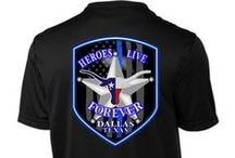 Dallas Police / Donate to our officers with every purchase you make from our Dallas Memorial Benefit collection.   In commemoration of the events that occurred in Dallas, Texas on July 7, 2016, we have devoted ourselves to give back to the community and support law enforcement.