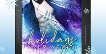 Holidays Ever After / Contemporary Romance Holiday Boxed Set.  Which holiday hottie will you unwrap first?  No matter the time of the year, it's always the season for seduction!  From Spicy to Sweet and everything in between, this sizzling boxed set of TWENTY contemporary romances from today's New York Times, USA Today, and International bestselling authors will give you tons of holiday hunks to fall in love with.