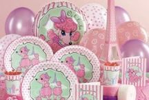 MB 1ST BDAY PARTY / Pink Poodle in París birthday party.