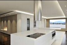 Cuisine / Les applications du Solid Surface V-korr en cuisine