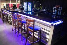 Restauration - bars / L'application de la résine de synthèse V-korr dans les restaurants, fast-foods, selfs,...