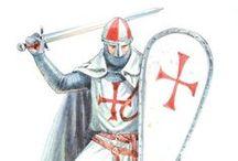 """Cavaleiros Da Ordem de Cristo / """"Non nobis Domine, non nobis, sed nomini tuo ad gloriam"""" Slm. 115:1"""