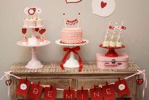 День Влюбленных / Идеи для праздничного настроения в День Влюбленных.