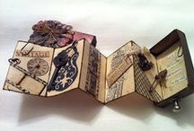 Matchbox Artistry / Art in a mini box. Mostly Books, but there all amazing!