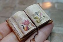 Miniature Books / The art of tiny book binding! Did I mention the smallness?! They are so cute!!