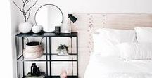WHITE BEDROOMS {sleep} / I love a white bedroom, a sanctuary for your mind to take a break from all the noise in the outside world and create the life of your dreams