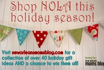 #shopNOLA 2012 / A collection of 40+ locally made holiday gift ideas AND giveaways!