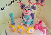 Elmo Cakes & Cupcakes