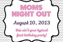 Moms Night Out 2013 / We are passionate about all things mom and all things NOLA. You won't want to miss our one year birthday bash at the Louisiana Children's Museum on August 10! #nombmomsnight