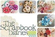 Shop at The Scrapbook Diaries / We stock a great selection of some of the newest scrap booking products around! We offer great flat fee shipping in the US.