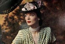 Vintage Actresses & Fashion Icons
