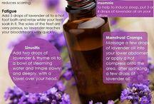 Aromaterapia-Aceite Esenciales / El uso de aceite esenciales (Aromaterapia) para tratar dolencias y mantener la salud.