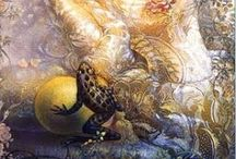 Fantasy Art / Fea and other magical creatures.  / by Rachel Antzak
