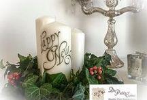composizioni natalizie / christmas flowers / composizioni natalizie - Christmas flowers compositions