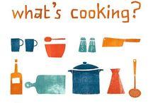 food/kitchen illustrations