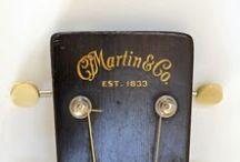 Vintage Martin Guitars / by Paul Bezanson