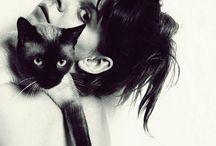 Cat / Encontrar cosas bonitas para pensando en Mike ojos azules