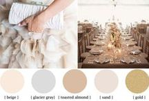 Wedding Palettes + Wedding Color Schemes / Wedding palettes we love, inspired by our pink marble mansion, The Tate House.