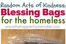 Random Acts of Kindness / Community service projects that kids can help with!