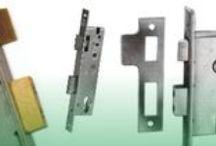 Door Locks / Types of door lock commonly used around the home or business premises.