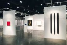 LOS ANGELES ART SHOW 2015 INSTALLATION IMAGES