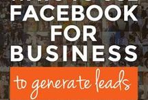 Facebook Marketing Tips / Looking to increase your Facebook engagement and get more visibility? Here are some Facebook marketing tips to help you grow your business. Facebook tips, facebook tips for business, facebook tips and tricks, facebook cheat sheets, how to use Facebook for business.