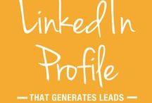 LinkedIn / LinkedIn tips, LinkedIn profile, Linkedin marketing tips, LinkedIn marketing strategies.