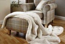 Faux Fur Decor / Home Decor ideas in Faux Fur