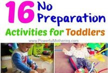 Toddler Activities / Things to do with your busy little ones!