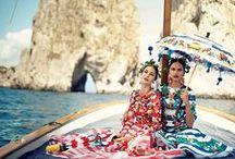 Jet Set Style / international influences, globalization, geometric & paisley patterns, fabrics, tiles, vintage vacation photographs, travel posters / by Monica Snyder