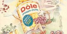Vintage Dole / In 1901, James Dole began growing pineapples in Wahiawa on the island of Oahu. He established the Hawaiian Pineapple Company, and Hawaii becomes synonymous with pineapples.