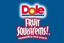 DOLE Fruit Squish'ems Sweepstakes / Win a year's supply of DOLE Fruit Squish'ems by showing us how much your kids love 'em.  It's easy to enter, just visit DoleSquishemsSweepstakes.com / by Dole Packaged Foods