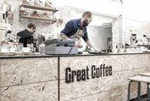 Coffee Shop Interiors / Interiors & spaces of coffee shops from around the world.
