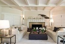 Living Easy in Big or Little Spaces / fabulous living spaces, big or little
