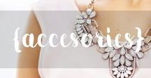ACCESSORIES / Accessories that will work for a variety of season, and many looks!  #Fashion #Accessories