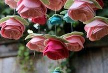 Fleur feutre