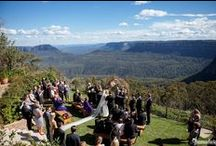 Amazing Wedding Ceremony Locations / Outdoor Ceremonies are so popular now and the locations are spectacular!