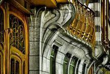 Victor Horta / Famous Architects, Portraits of Architects, Architecture, Famous Buildings, Art Nouveau, Maison Horta, Hotel Tassel