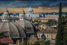 Carlo Rainaldi / Famous Architects, Portraits of Architects, Architecture, Famous Buildings, Baroque, Piazza del Popolo, Rome, Santa Maria dei Miracoli, Santa Maria in Montesanto