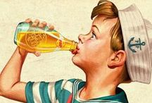 ChEErS!!!! / Retro/Vintage Drinks Ads & Products (beers, colas, sodas, spirits, waters & wines) / by ˙·●●๑۩  Maïa Lavida  ۩๑●●·˙