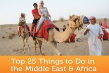 Bucket List: Middle East / Inspiration for travel in the Middle East.