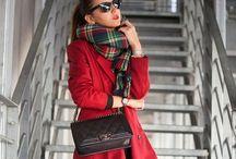Looks de invierno / Cómo combinar prendas, estilos y colores.