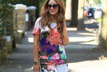 Looks de verano / Cómo combinar prendas, estilos y colores.