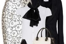 Outfits black/ white