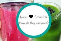 Smoothies & Smoothie Bowls / Easy, convenient and delicious. Endless combinations.