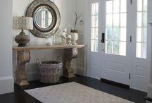 Recibidores/pasillos (entrys/corridors): decoración